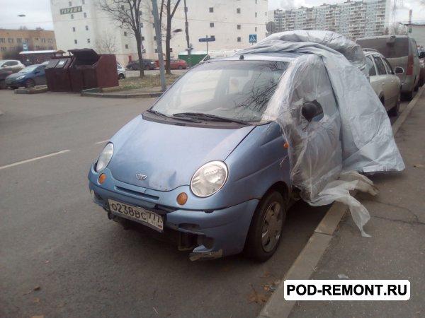 Продам а/м Daewoo Matiz битый