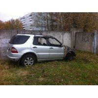 Продам а/м Mercedes-Benz M-класс после пожара